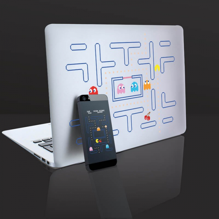 Abtibilduri pentru gadgeturi Pac-Man