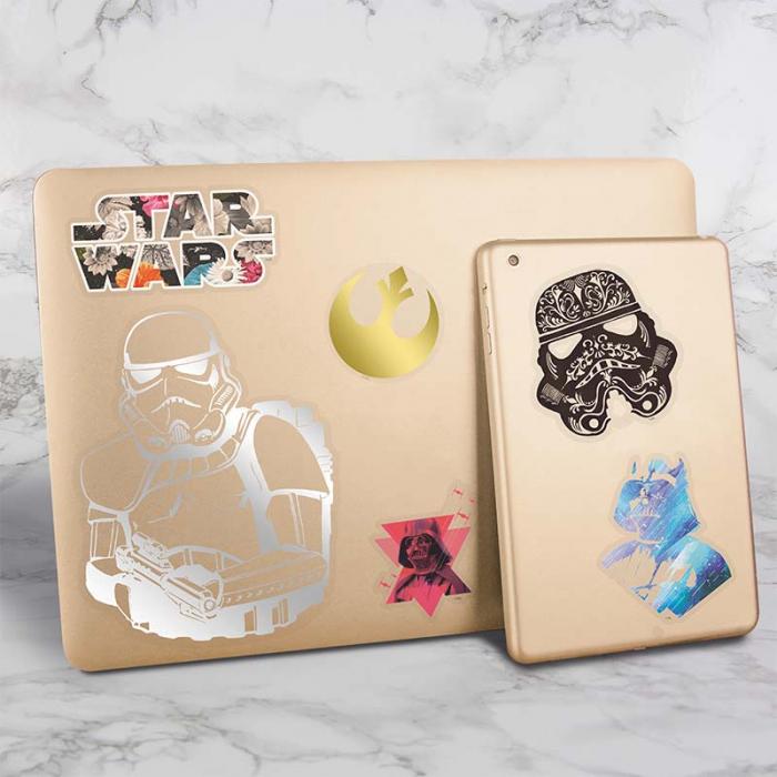 Abtibilduri pentru gadgeturi Star Wars - Abstract Art 0