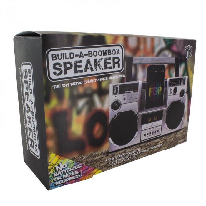 Amplificator smartphone Boombox DIY 1