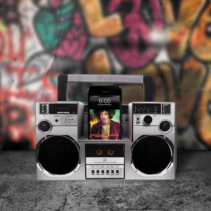 Amplificator smartphone Boombox DIY 0