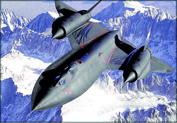 Avionul SR-71 Blackbird 1