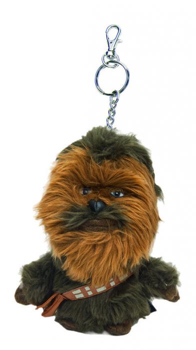 Breloc Chewbacca din plus - 12 cm 0