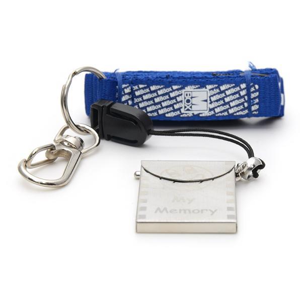 Breloc cu port-card universal de memorie 3