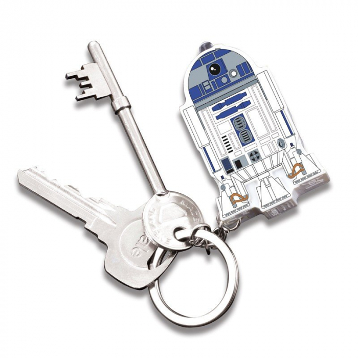 Breloc cu sunet si lumini R2-D2 1