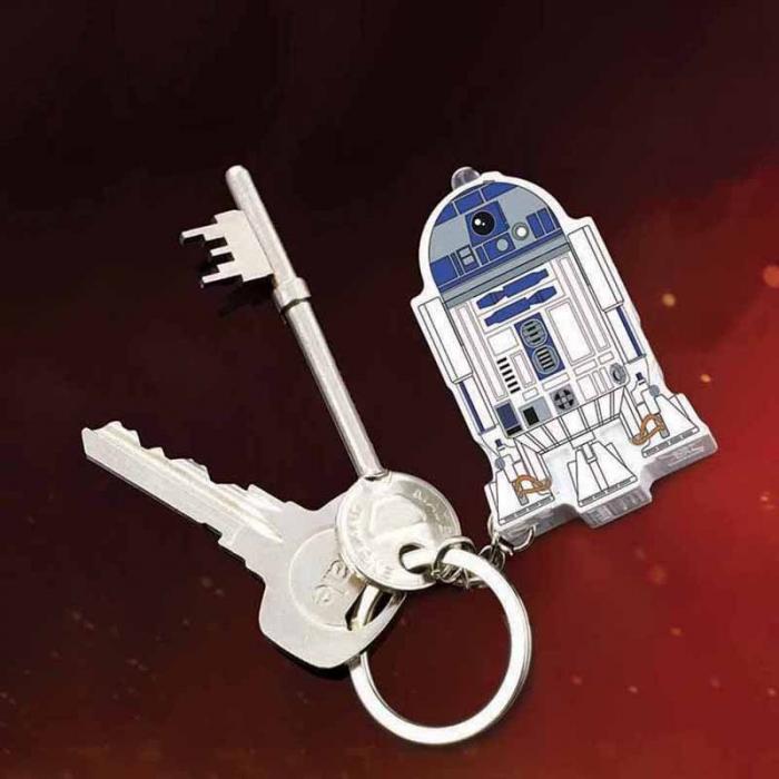 Breloc cu sunet si lumini R2-D2 0