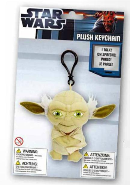 Breloc cu sunet Yoda - 10 cm [0]