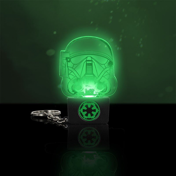 Breloc Star Wars cu lumini Death Trooper 0
