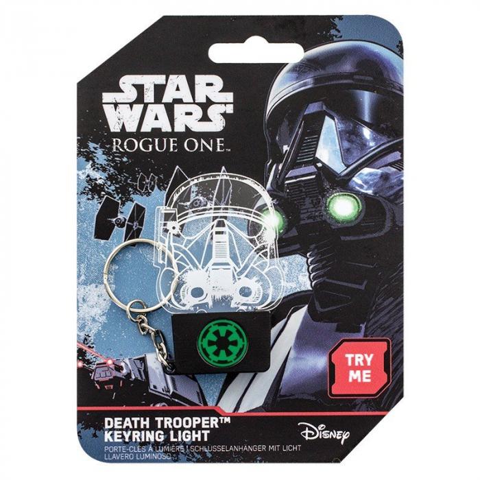 Breloc Star Wars cu lumini Death Trooper 2