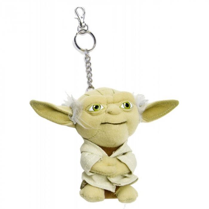 Breloc Yoda din plus - 12 cm 0