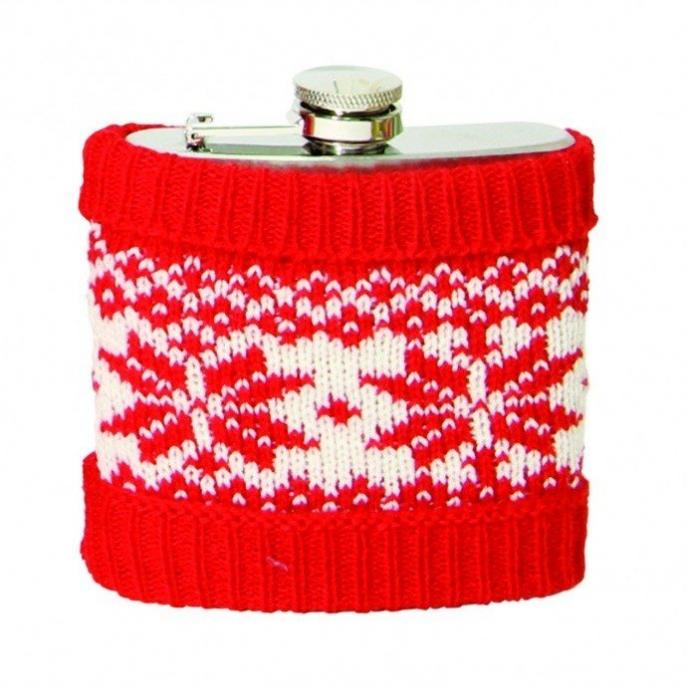 Butelcuta imbracata in pulover 0