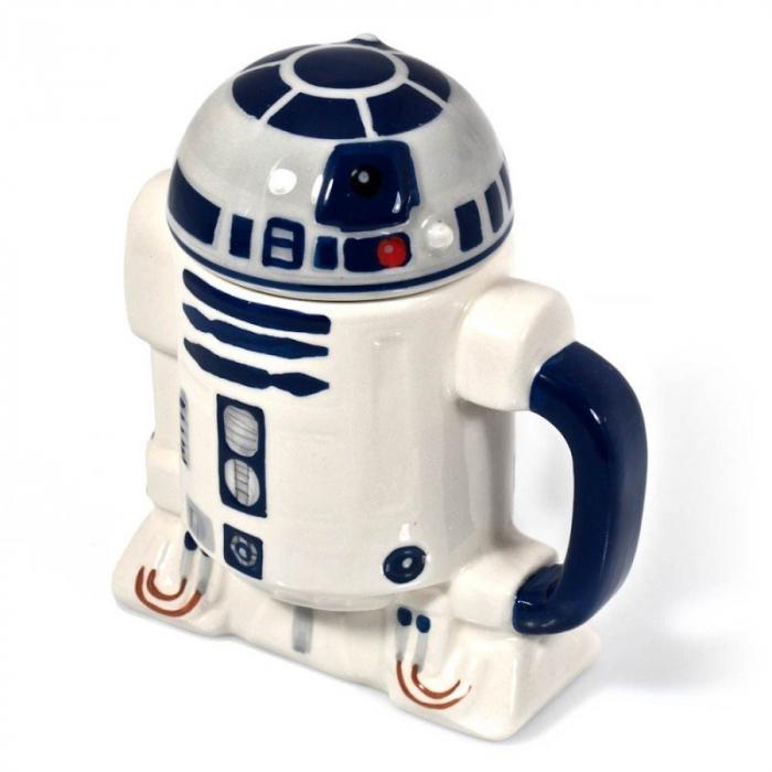 Cana R2-D2 cu capac 0