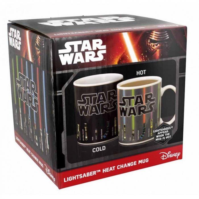 Cana termosensibila Star Wars cu sabii laser 3