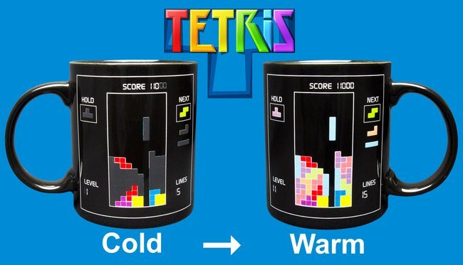 Cana termosensibila Tetris 3
