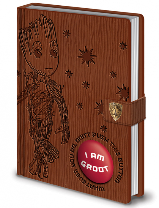 Carnetel cu sunet - I Am Groot [0]