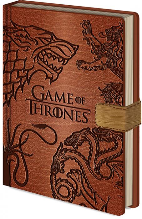 Carnetel premium Game of Thrones - Sigilii