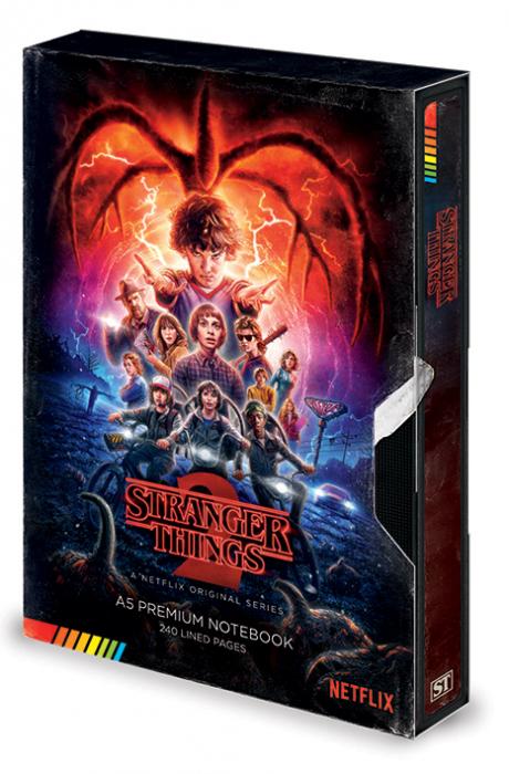 Carnetel VHS Stranger Things