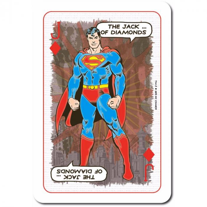 Carti de joc Waddingtons DC Retro 3