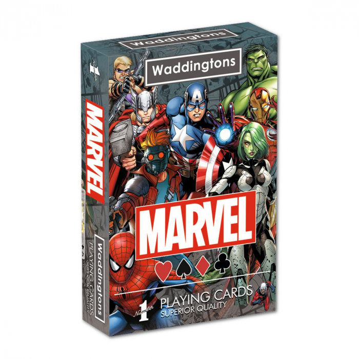 Carti de joc Waddingtons Marvel 0