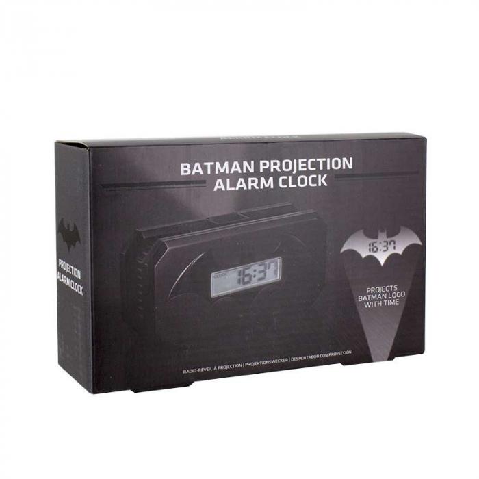 Ceas desteptator cu proiectie Batman [2]