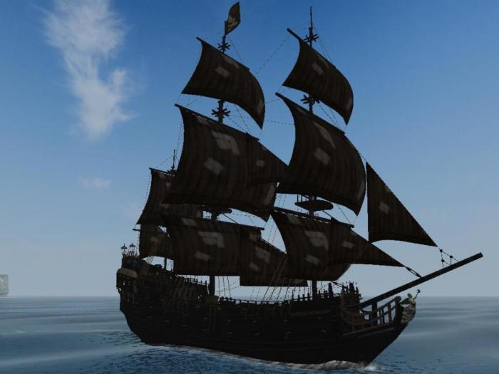 Corabia Piratilor - Black Pearl 1