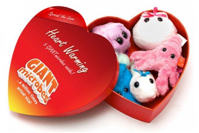 Cutie cu 5 mini-microbi varianta romantica 0