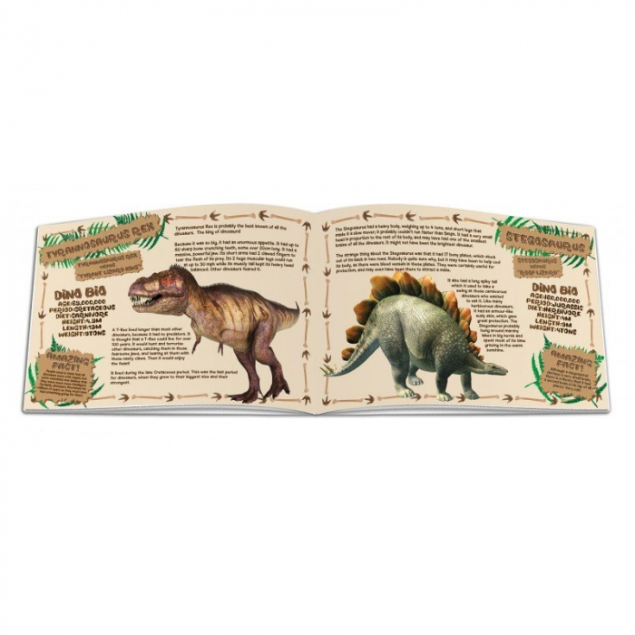 Dinosaur Construction Kit - Styracosaurus & Velociraptor 1