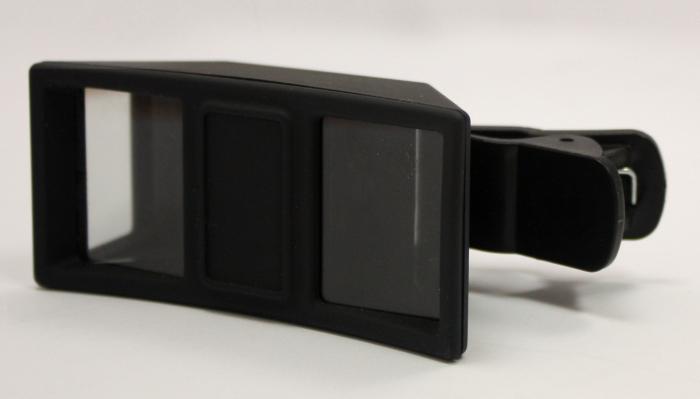 Dispozitiv smartphone pentru creare video 3D