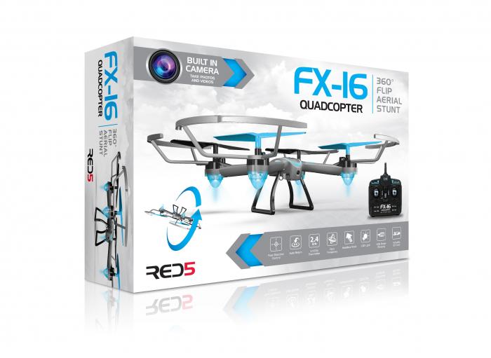Drona FX16 Quadcopter cu camera video HD 3