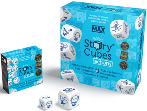 Extensii Story Cubes tematice - Actions MAX 1