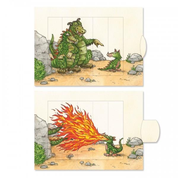 Felicitare animata - Dragoni 0