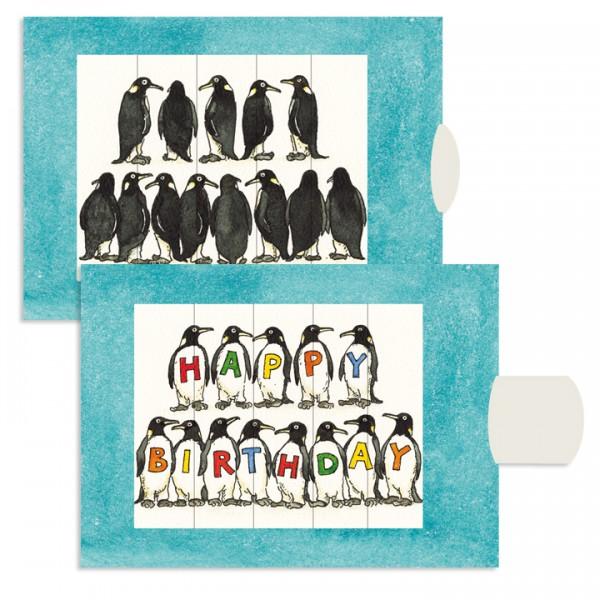 Felicitare animata - Pinguini (Happy Birthday) [0]