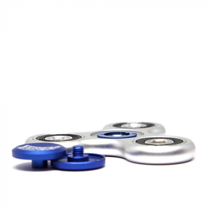 Fidget Ninja Metal Spinner - Argintiu 2