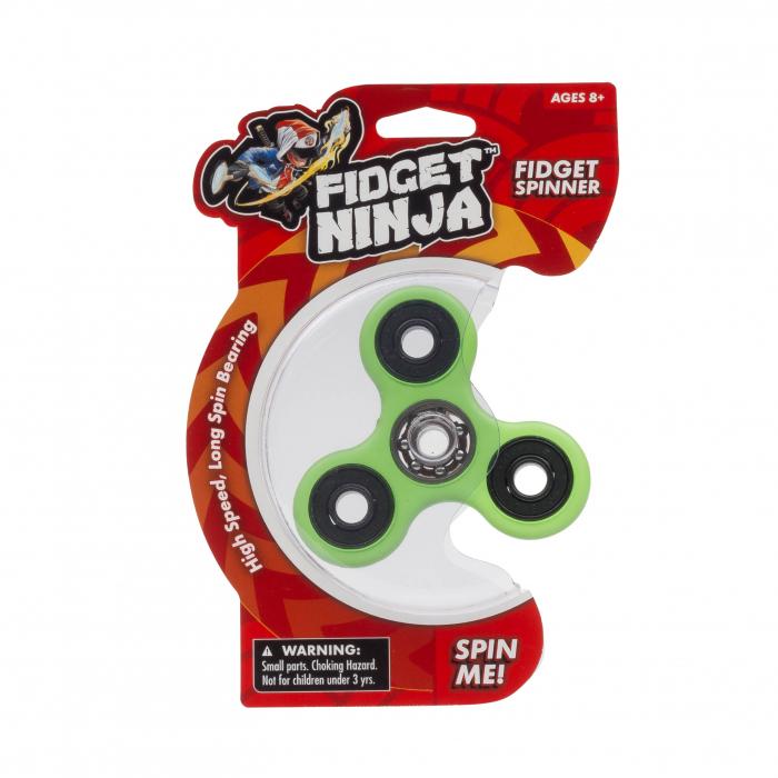 Fidget Ninja Spinner - Verde 2