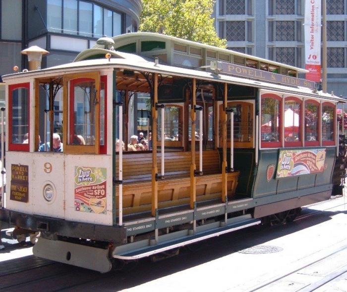 Funicularul din San Francisco 1