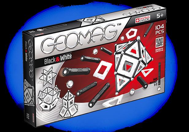 Geomag Black & White 104 piese 0