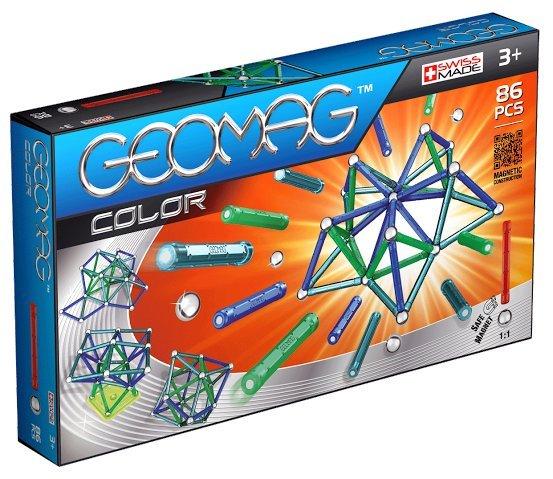Geomag Color 86 piese - Albastru si Verde 0