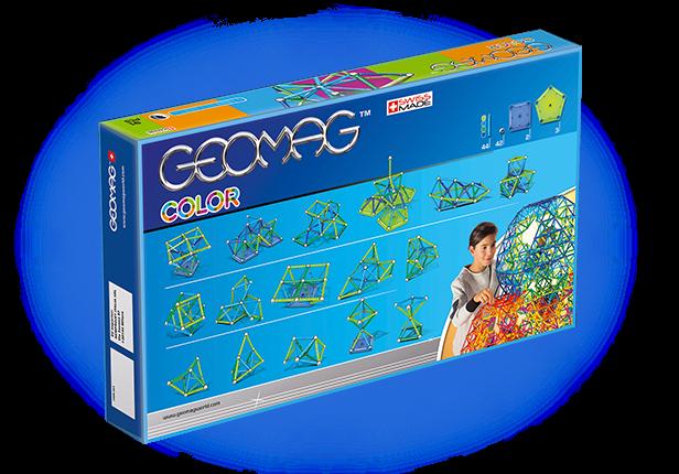Geomag Color 91 piese - Albastru si Verde 3