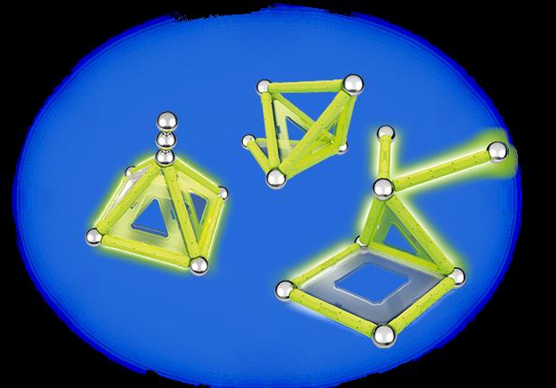 Geomag Glow 22 piese 2