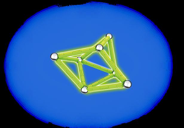 Geomag Glow 30 piese 2