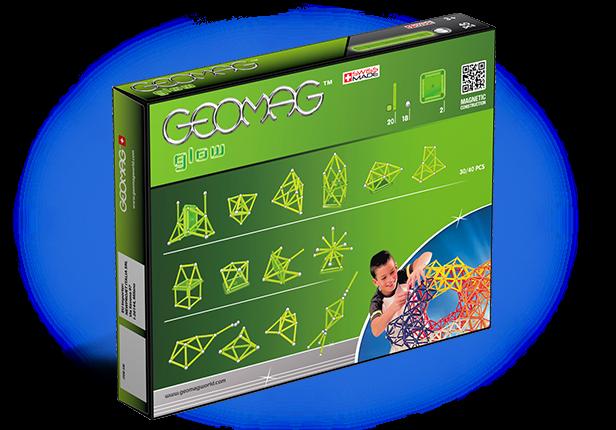 Geomag Glow 40 piese 3