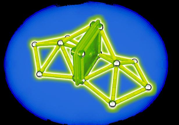 Geomag Glow 40 piese 2