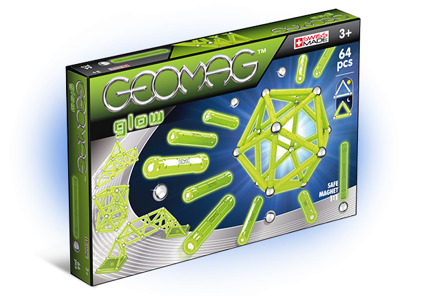 Geomag Glow 64 piese 0