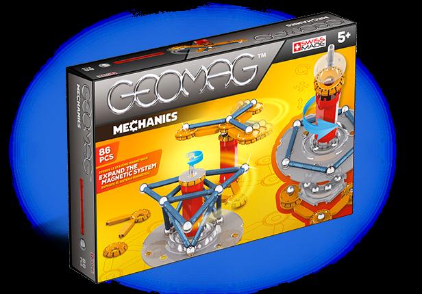 Geomag Mechanics 86 piese - Parcul de distractie [0]