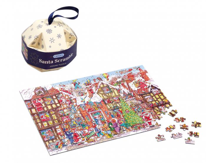 Glob de Craciun cu puzzle 250 piese 2