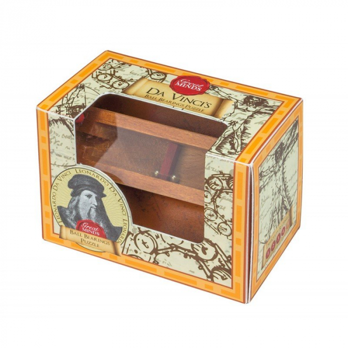 Great Minds - Da Vinci's Ball Bearings Puzzle 0