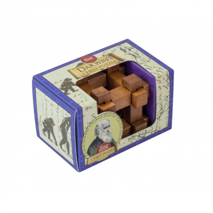Great Minds - Darwin's Chest mini Puzzle 0