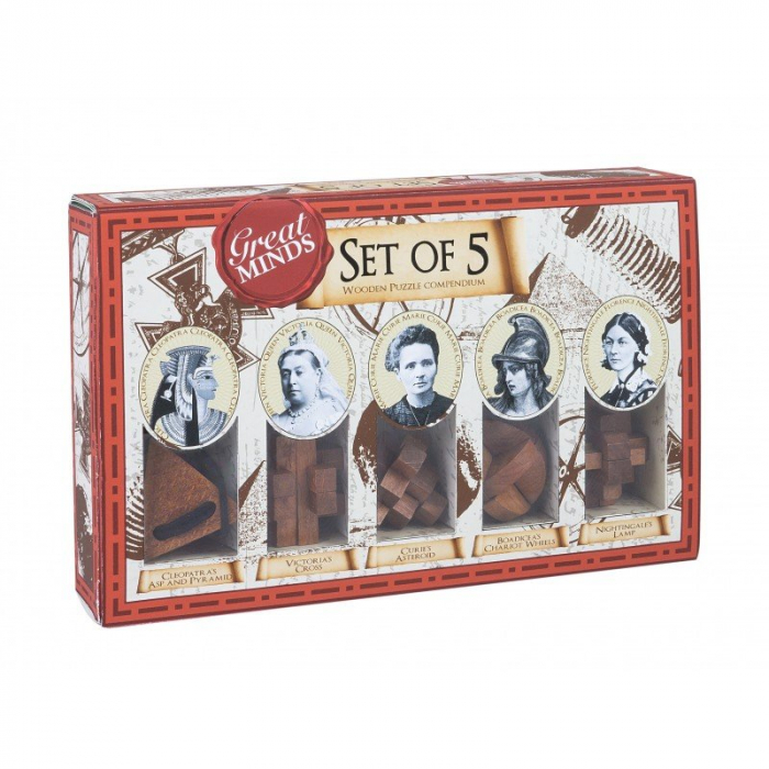 Great Minds - Women's Set of 5 0
