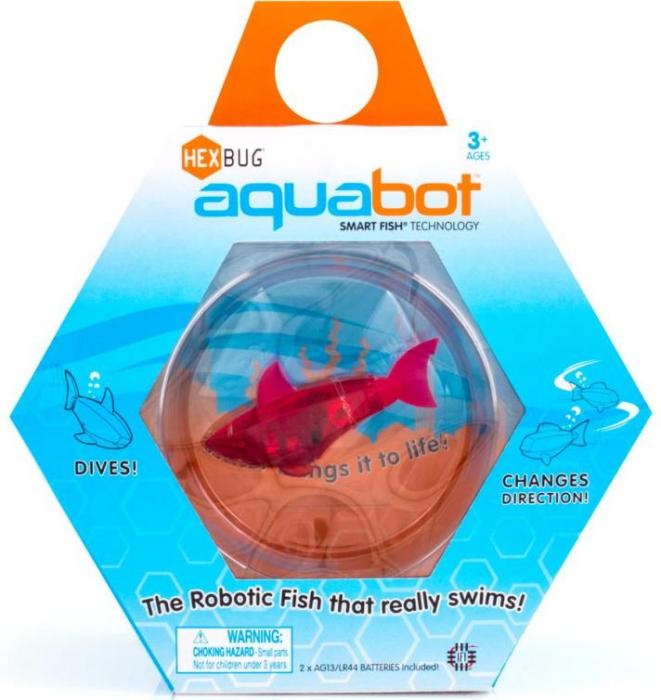 Hexbug Aquabot cu acvariu 0
