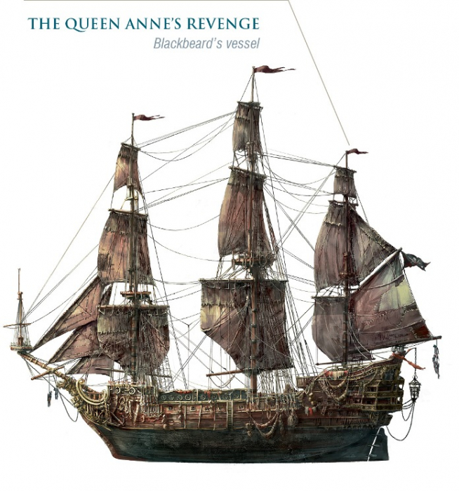 ICONX - Nava Queen Anne's Revenge 1