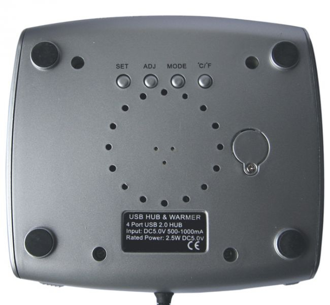 Incalzitor cana pe USB cu LCD 2